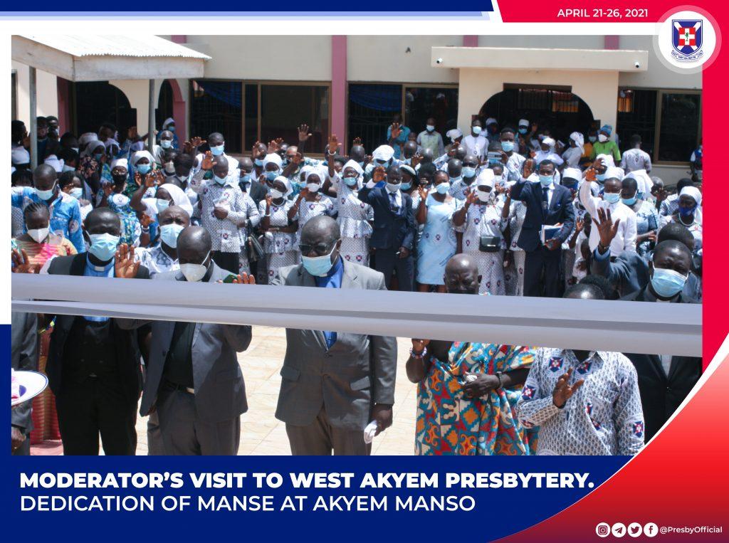 West Akyem Presbytery Visit - Akyem Manso3